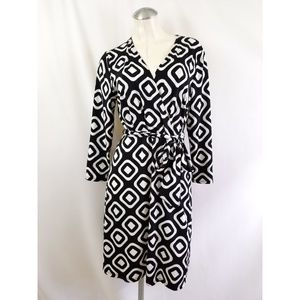 INC International Concepts Size L Belted Dress
